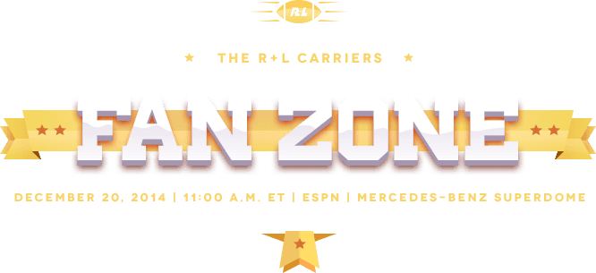 The R+L Carriers Fan Zone