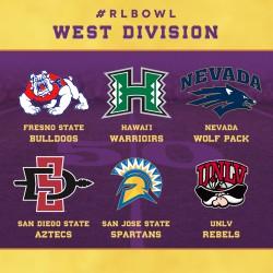 West Division teams