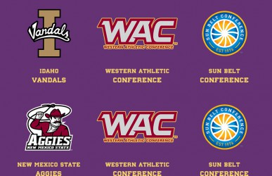 Sun Belt and Conference USA NCAA Football alignment