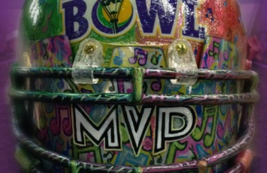 The 2013 MVP Trophy created by Tuna Seither