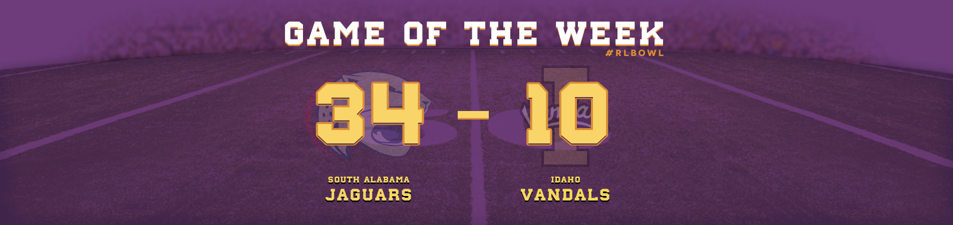 Jaguars Win Over the Vandals - R+L Carriers New Orleans Bowl