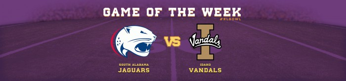 Jaguars and Vandals Week 5 Game of the Week - R+L Carriers New Orleans Bowl