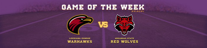 Warhawks Battle Red Wolves - R+L Carriers New Orleans Bowl