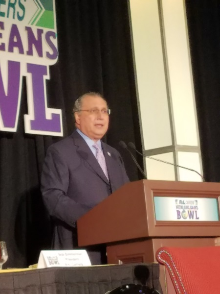 Paul Valteau Chairman of the New Orleans Bowl