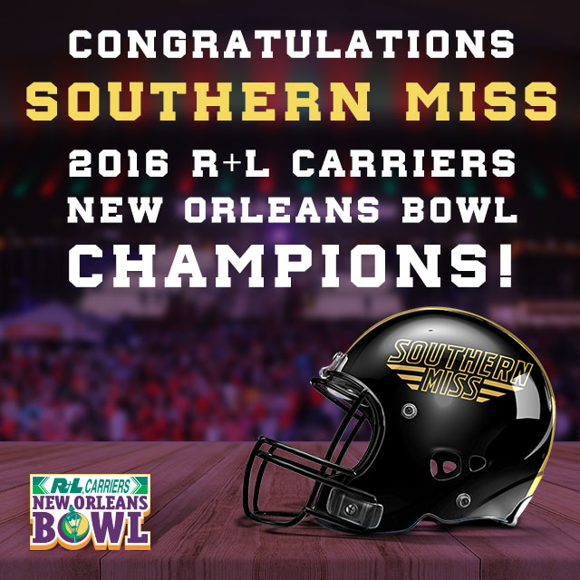 Southern Miss new orleans bowl