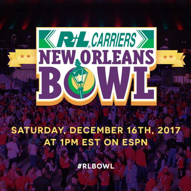 2017 R+L Carriers New Orleans Bowl
