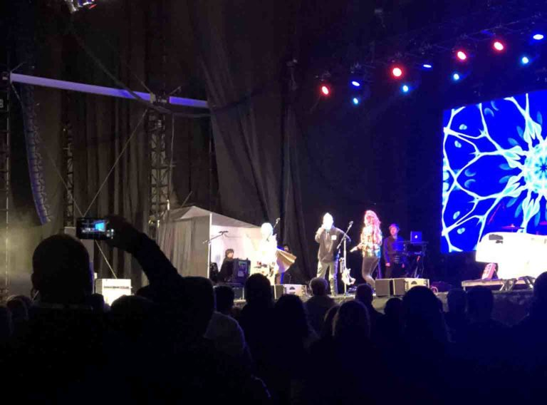The B-52s at the New Orleans Bowl