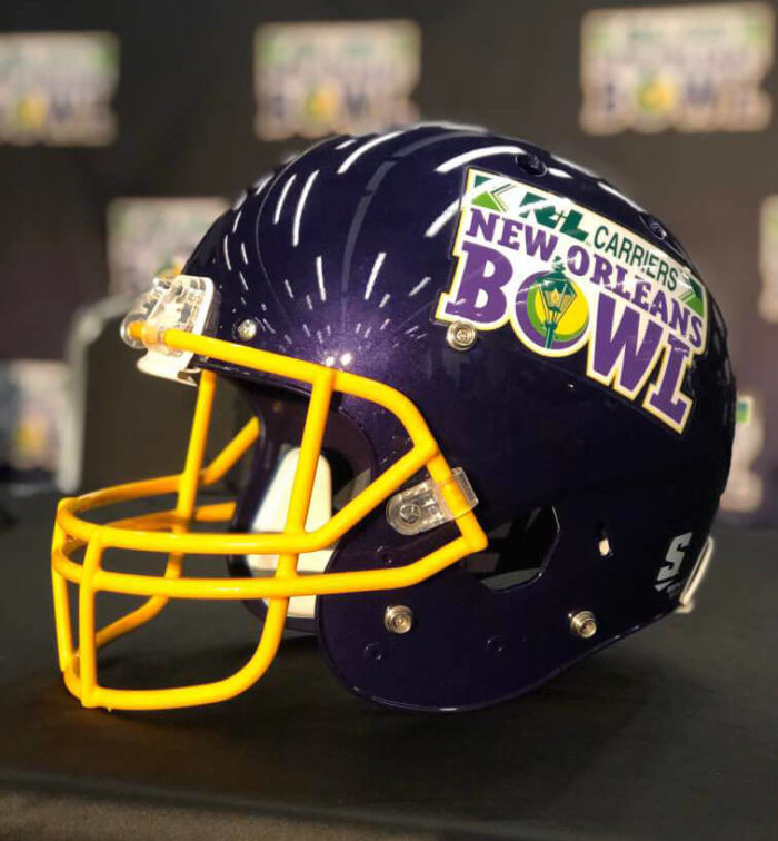 New Orleans Bowl Helmet