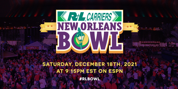 2021 R+L Carriers New Orleans Bowl